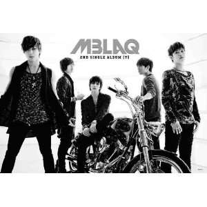 MBLAQ horiz black & white POSTER 34 x 23.5 Korean boy band