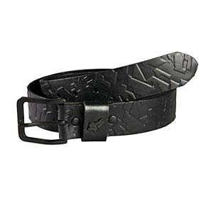 Fox Racing X Factor Leather Belt   X Large (40/42)/Black