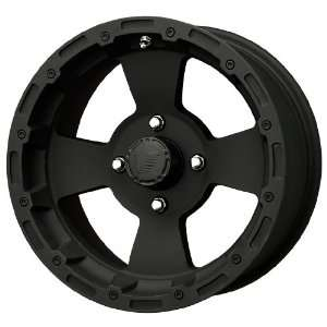 Vision Wheel Bruiser 161 Black Wheel (12x7/4x115mm