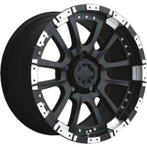 Advanti Racing Roccia 18x9 Black Wheel / Rim 6x135 with a 12mm Offset