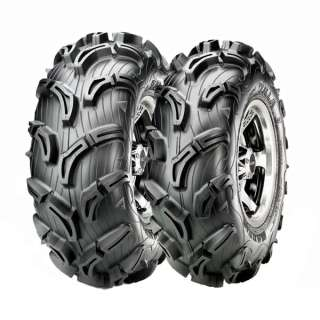25CAN AM OUTLANDER MAXXIS ZILLA ATV TIRE & WHEEL KIT