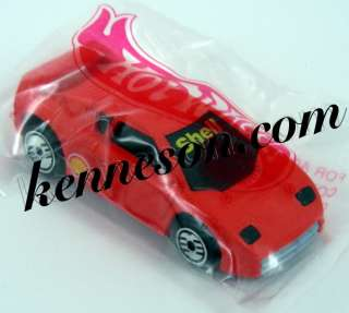 Zender Fact 4 Shell Red Hot Wheels 1994 Baggie Promo
