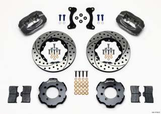 WILWOOD DISC BRAKE KIT,FRONT,89 05 MAZDA MIATA MX 5,11 DRILLED ROTORS