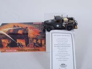 Fire Engine Series YYM35189 1941 Chevrolet Army Fire Truck