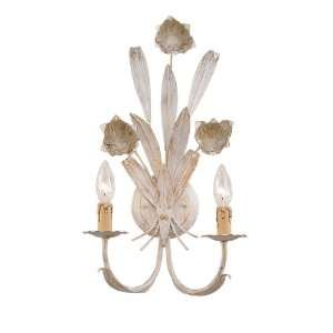 Southport Handpainted Wrought Iron Wall Sconce