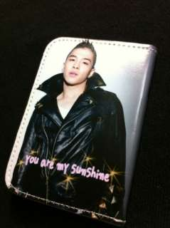 BIG BANG YG FAMILY BIGBANG Tae Yang Card Case Wallet