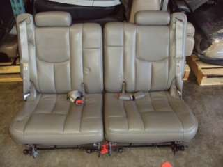 2000 2006 Cadillac Escalade Chevy Tahoe GMC Yukon Third 3rd Row Seats