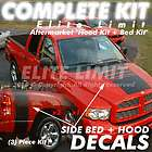 2008 Dodge Ram Truck Decal COMPLETE Vinyl Stripes Stickers Graphics