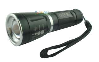CREE LED Zoomable Flashlight Torch Light Lamp 300LM K 2