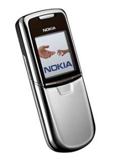NEW NOKIA 8800 SILVER UNLOCKED MOBILE PHONE + 3 GIFTS 6417182574986