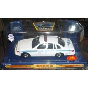 CODE THREE, 1/24 SCALE, BUFFALO, N.Y. POLICE, FORD CROWN