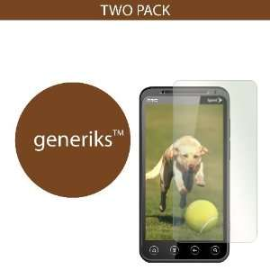 Generiks TM HTC EVO 3D *ANTI GLARE* Screen Protectors (2