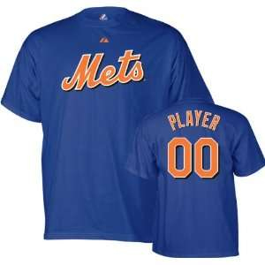 New York Mets   Any Player   Youth Name & Number T shirt