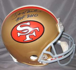 Jerry Rice Signed/Autographed San Francisco 49ers Proline Helmet w/HOF
