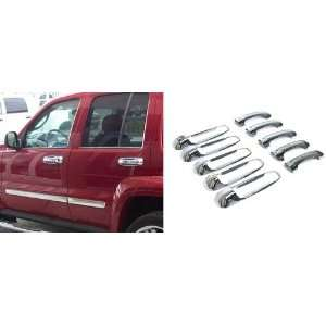 New Dodge Ram 2500/Ram 3500 Door Handle Covers   4dr Chrome 10pc, w/o