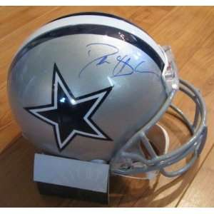 Deion Sanders Autographed Helmet   Authentic   Autographed