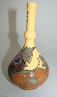 OUTSTANDING ART NOUVEAU CERAMIC VASE BY ROZENBURG DEN HAAG, c. 1900