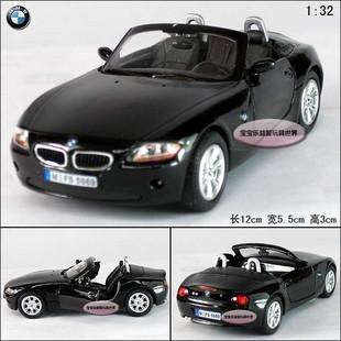 New BMW Z4 Open 132 Alloy Diecast Model Car Black B075d