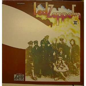 Led Zeppelin   II Record Album LP