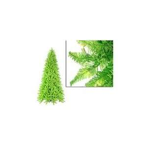 Green Ashley Spruce Christmas Tree   Clear & Green Lights Home