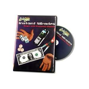 Miracles DVD Easy Magic Tricks Instant Levitate