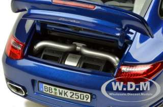 PORSCHE CARRERA 911 (997) TURBO AQUA BLUE 118 DIECAST BY NOREV 187621