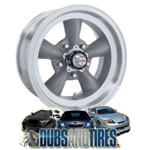American Racing wheels wheels TORQ THRUST D Gray w/ Mach Lip wheels