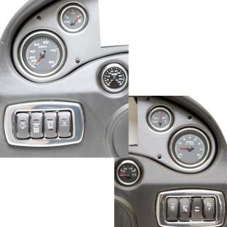 TRITON BOAT DASH PANEL w/ GAUGES AND SWITCHES