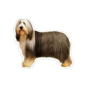 BEARDED COLLIE   Dog Decal   sticker gift car window