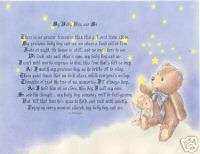 Baby Boy or Baby Girl Poem Personalized Name Prayer ~