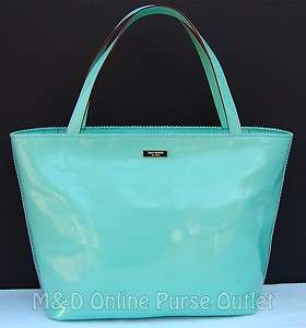 NEW NWT Authentic Kate Spade Ocean Drive Patent Leather Coal Bucket