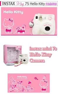 instax mini7S Hello Kitty Special Edition ver . (only four strap