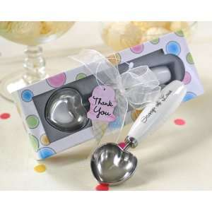 Scoop of Love Heart Shaped Ice Cream Scoop in Parlor Gift Box   Baby