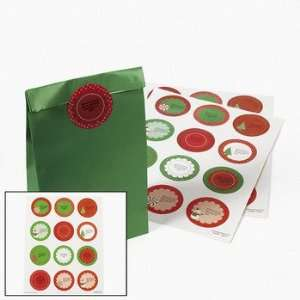 Christmas Favor Stickers   Party Themes & Events & Party Favors