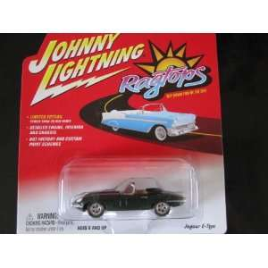 Jaguar E type Johnny Lightning Limited Edition Ragtops Series 2