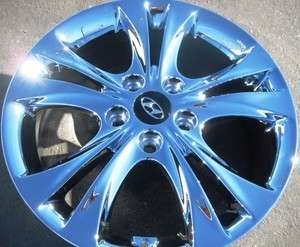 EXCHANGE YOUR STOCK 4 NEW 17 FACTORY HYUNDAI SONATA CHROME WHEELS