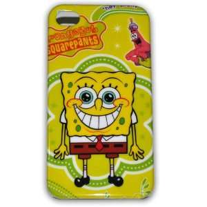Spongebob Squarepants Hard Case for Iphone 4g/4s Ib033e + Free Screen