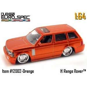 Jada Dub City Metallic Orange Range Rover 164 Scale Die