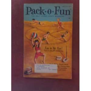 Pack O Fun Scrap Craft Magazine June July 1977 Everything