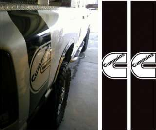 DODGE RAM CUMMINS DIESEL BOX STRIPE DECAL STICKER KIT