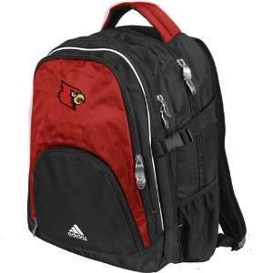adidas Louisville Cardinals Black Campus Backpack Sports