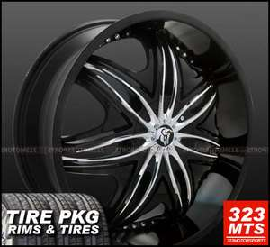 28 DIABLO MORPHEUS WHEELS & TIRE *LIMITED SALE* GMC FORD YUKON