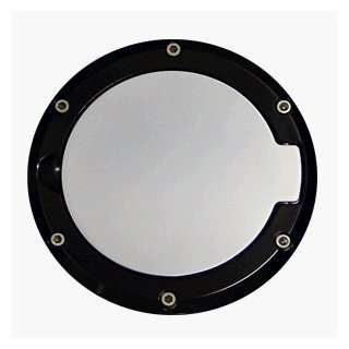 94 04 MUSTANG BILLET FUEL DOOR FLAT BLACK RING POLISH Automotive