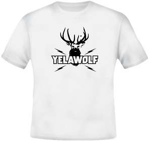 Yelawolf Deer Head Rap Hip Hop T Shirt