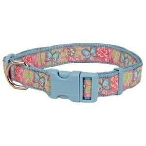 Douglas Paquette Nylon Dog Collar BUTTERFLY 3/8X9 12