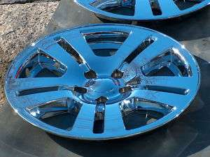 FORD EDGE CHROME WHEELS 17 (4) NEW 07 11
