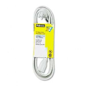 Fellowes  Indoor Heavy Duty Extension Cord, 3 Prong Plug
