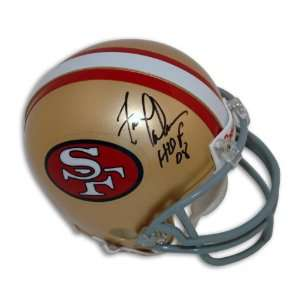 Fred Dean Autographed San Francisco 49ers Mini Helmet Inscribed HOF