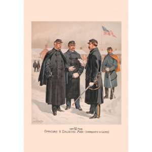 Officers & Enlisted Men (Overcoats & Capes) 20X30 Paper