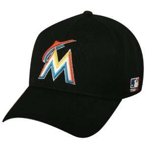 MLB 2012 YOUTH MIAMI MARLINS Home Black Hat Cap Adjustable
